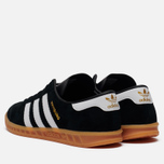Кроссовки adidas Originals Hamburg Black/White/Gum фото- 1