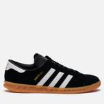 Кроссовки adidas Originals Hamburg Black/White/Gum фото- 5
