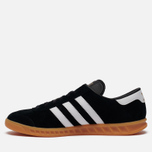 Кроссовки adidas Originals Hamburg Black/White/Gum фото- 3