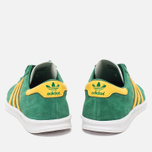 Кроссовки adidas Originals Hamburg Blanche Green/Spring Yellow фото- 3