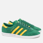 Кроссовки adidas Originals Hamburg Blanche Green/Spring Yellow фото- 1