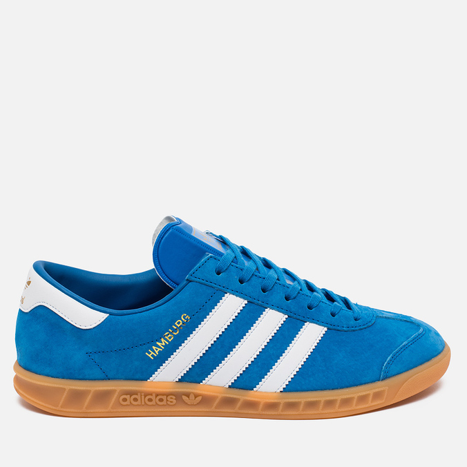 Кроссовки adidas Originals Hamburg Blue Bird/White/Gum