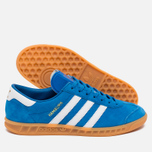 Кроссовки adidas Originals Hamburg Blue Bird/White/Gum фото- 2