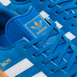 Кроссовки adidas Originals Hamburg Blue Bird/White/Gum фото- 5