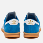 Кроссовки adidas Originals Hamburg Blue Bird/White/Gum фото- 3