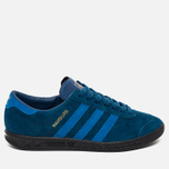 Кроссовки adidas Originals Hamburg Blue/Black фото- 0