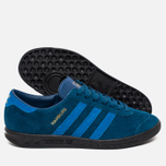 Кроссовки adidas Originals Hamburg Blue/Black фото- 2