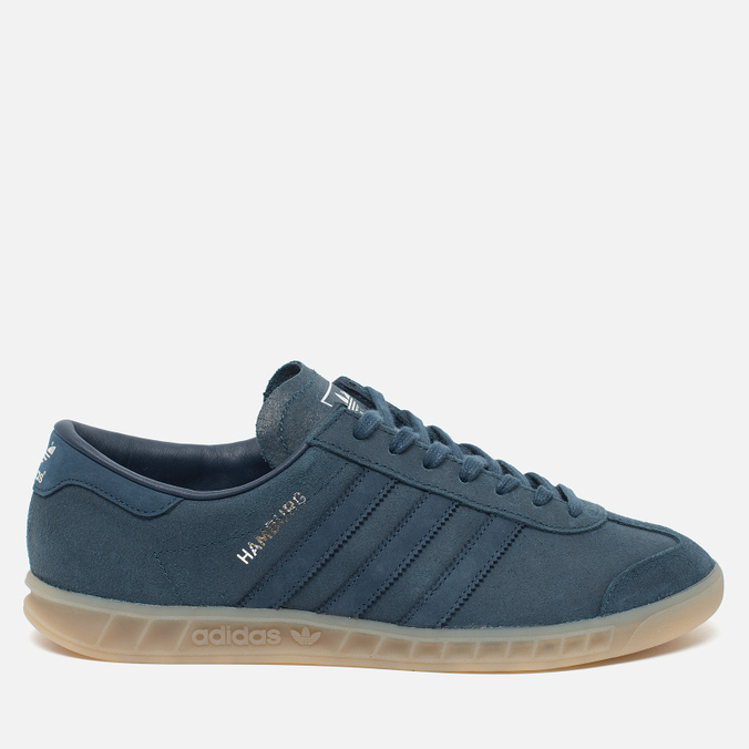 adidas Originals Hamburg Sneakers Blue/Metallic Silver