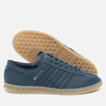 adidas Originals Hamburg Sneakers Blue/Metallic Silver photo- 1