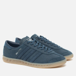 adidas Originals Hamburg Sneakers Blue/Metallic Silver photo- 2