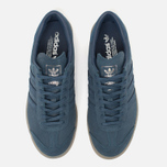 adidas Originals Hamburg Sneakers Blue/Metallic Silver photo- 5