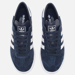 Кроссовки adidas Originals Hamburg Collegiate Navy/Running White/Gold фото- 4