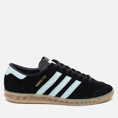 adidas Originals Hamburg Core Sneakers Black/Blue/Vintage White