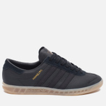 Кроссовки adidas Originals Hamburg Core Black/Gum фото- 0
