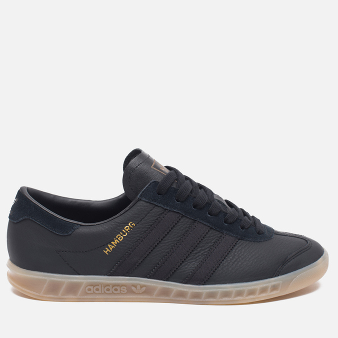 Кроссовки adidas Originals Hamburg Core Black/Gum