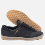 Кроссовки adidas Originals Hamburg Core Black/Gum фото- 2