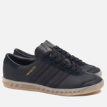 Кроссовки adidas Originals Hamburg Core Black/Gum фото- 1