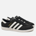 Кроссовки adidas Originals Hamburg Core Black/Pearl Grey фото- 1