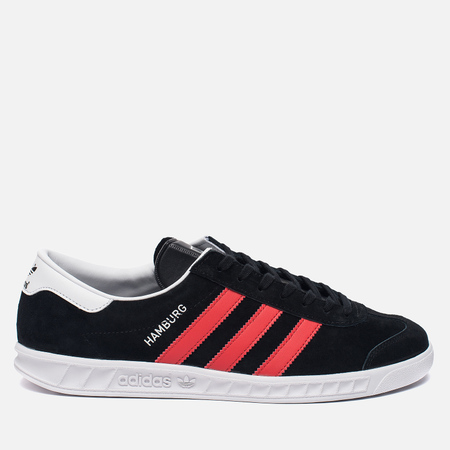 Кроссовки adidas Originals Hamburg Core Black/Red/White