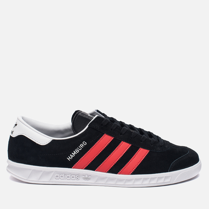 Кроссовки adidas Originals Hamburg Core Black/Red/White
