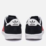 Кроссовки adidas Originals Hamburg Core Black/Red/White фото- 3