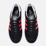 Кроссовки adidas Originals Hamburg Core Black/Red/White фото- 4