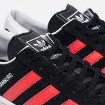 Кроссовки adidas Originals Hamburg Core Black/Red/White фото- 5