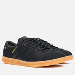 Кроссовки adidas Originals Hamburg GORE-TEX Black/Gum фото- 1