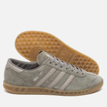 Кроссовки adidas Originals Hamburg Granite/Grey/Gum фото- 2