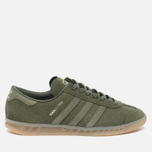 Кроссовки adidas Originals Hamburg Green/Metallic Silver фото- 0