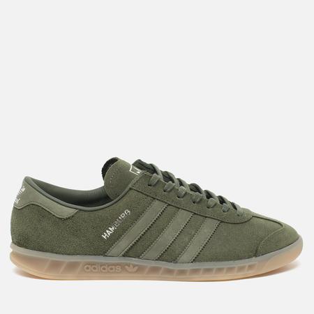 adidas Originals Hamburg Sneakers Green/Metallic Silver