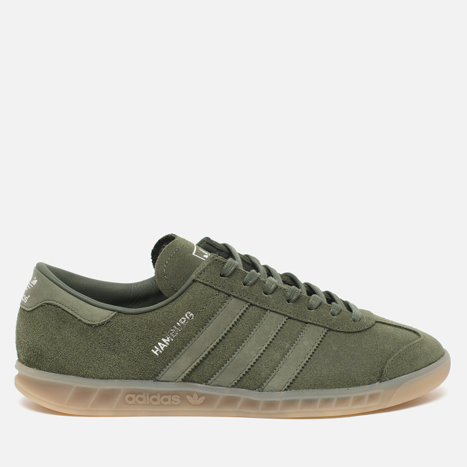 Кроссовки adidas Originals Hamburg Green/Metallic Silver