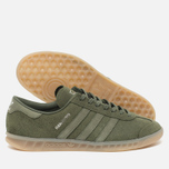 adidas Originals Hamburg Sneakers Green/Metallic Silver photo- 1