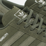 Кроссовки adidas Originals Hamburg Green/Metallic Silver фото- 4