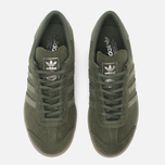 adidas Originals Hamburg Sneakers Green/Metallic Silver photo- 5