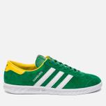 Кроссовки adidas Originals Hamburg Green/White/Yellow фото- 0