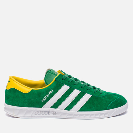 Кроссовки adidas Originals Hamburg Green/White/Yellow