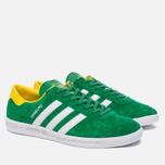 Кроссовки adidas Originals Hamburg Green/White/Yellow фото- 2