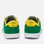Кроссовки adidas Originals Hamburg Green/White/Yellow фото- 3