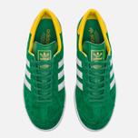 Кроссовки adidas Originals Hamburg Green/White/Yellow фото- 4