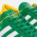Кроссовки adidas Originals Hamburg Green/White/Yellow фото- 5