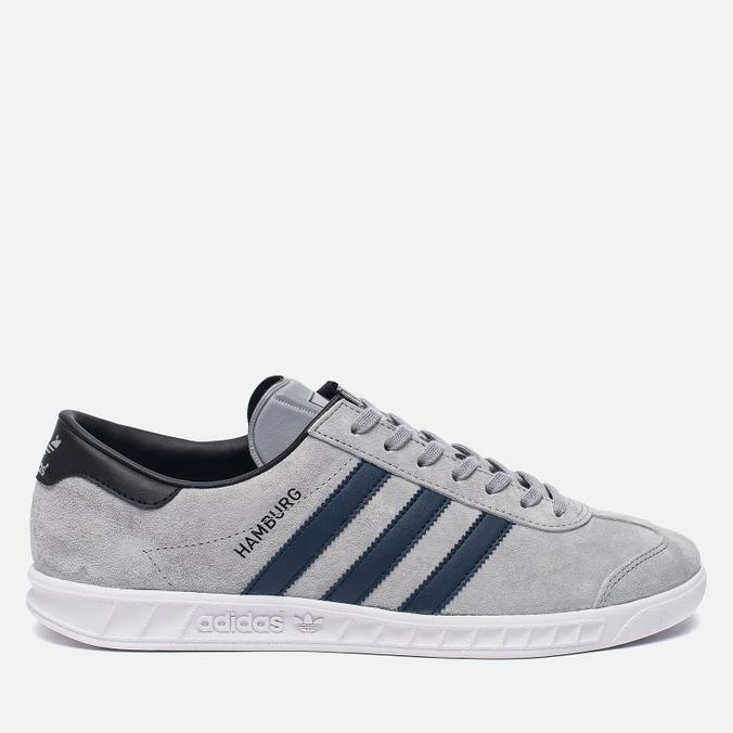 Кроссовки adidas Originals Hamburg Grey/Navy/White