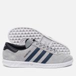 Кроссовки adidas Originals Hamburg Grey/Navy/White фото- 1