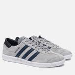 Кроссовки adidas Originals Hamburg Grey/Navy/White фото- 2