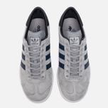 Кроссовки adidas Originals Hamburg Grey/Navy/White фото- 4