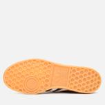 adidas Originals Hamburg Made In Germany Sneakers Collegiate Burgundy/White/Gold Metallic photo- 8