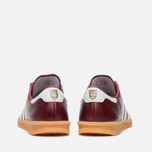 Кроссовки adidas Originals Hamburg Made In Germany Collegiate Burgundy/White/Gold Metallic фото- 3