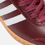 Кроссовки adidas Originals Hamburg Made In Germany Collegiate Burgundy/White/Gold Metallic фото- 7