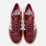 Кроссовки adidas Originals Hamburg Made In Germany Collegiate Burgundy/White/Gold Metallic фото- 4