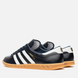 adidas Originals Hamburg Made In Germany Sneakers Collegiate Navy/White/Gold Metallic photo- 2